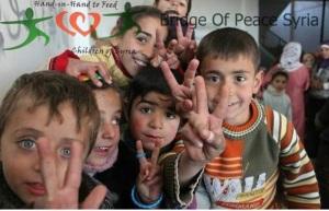 CHILDREN SHOOTING V SIGN